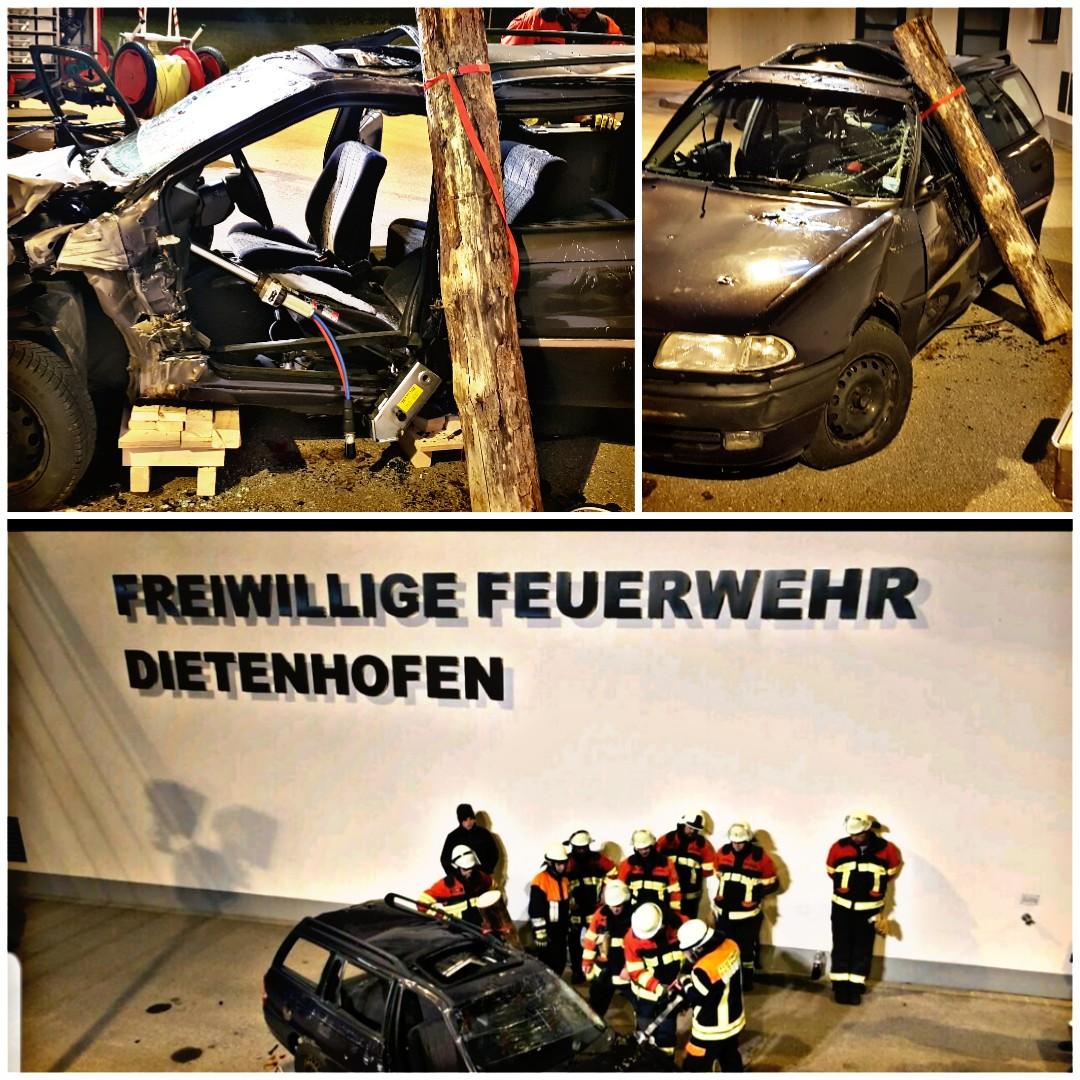Übung Technische Rettung am PKW Teil II: