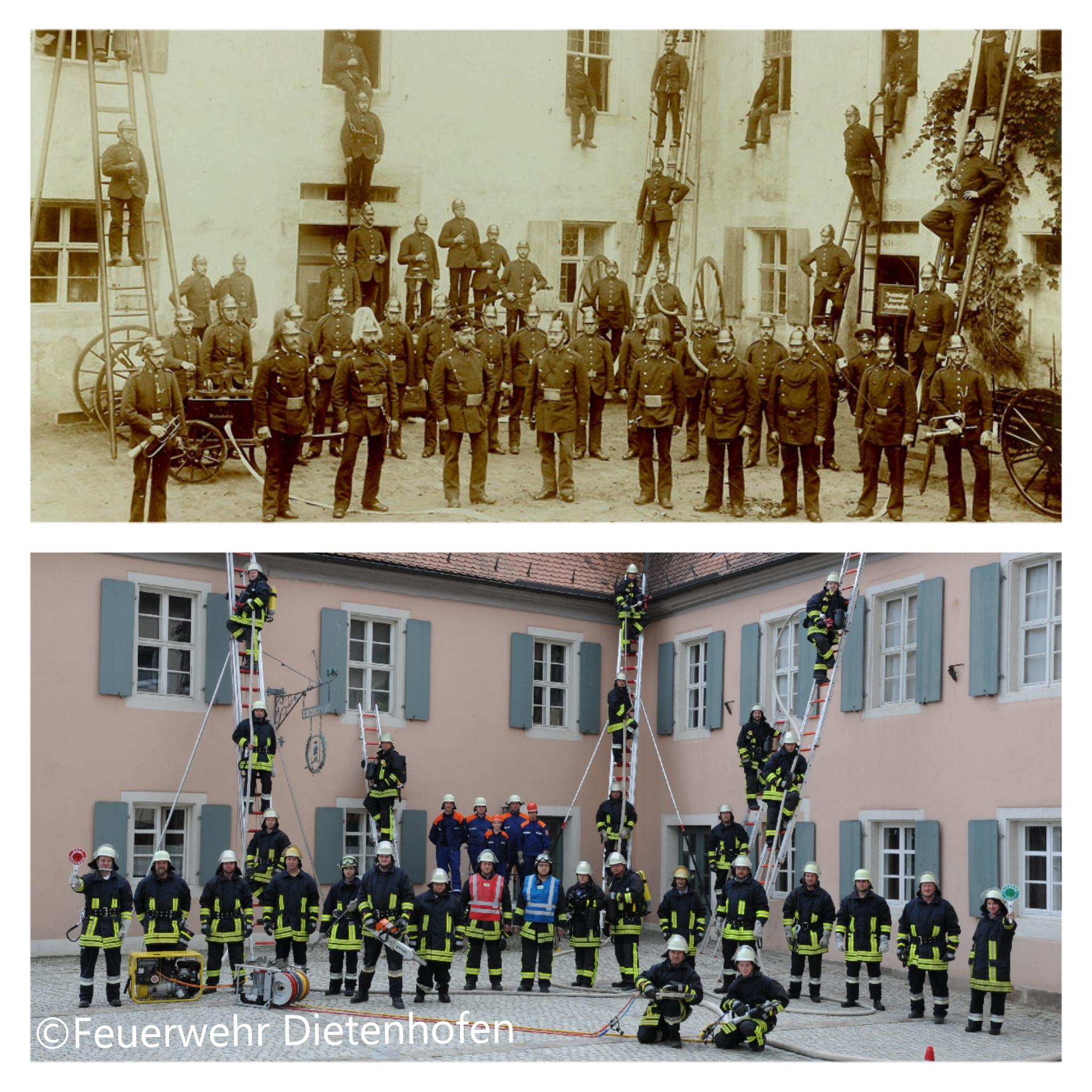 Die Feuerwehr Dietenhofen im Wandel der Zeit – Die Anfänge