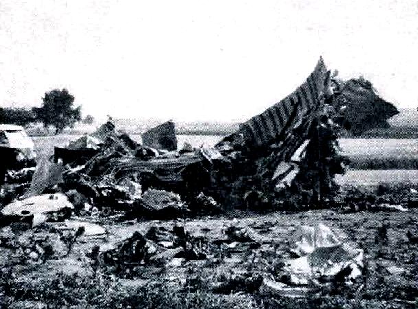 Die Feuerwehr Dietenhofen im Wandel der Zeit – Absturz einer Boeing 720 1964
