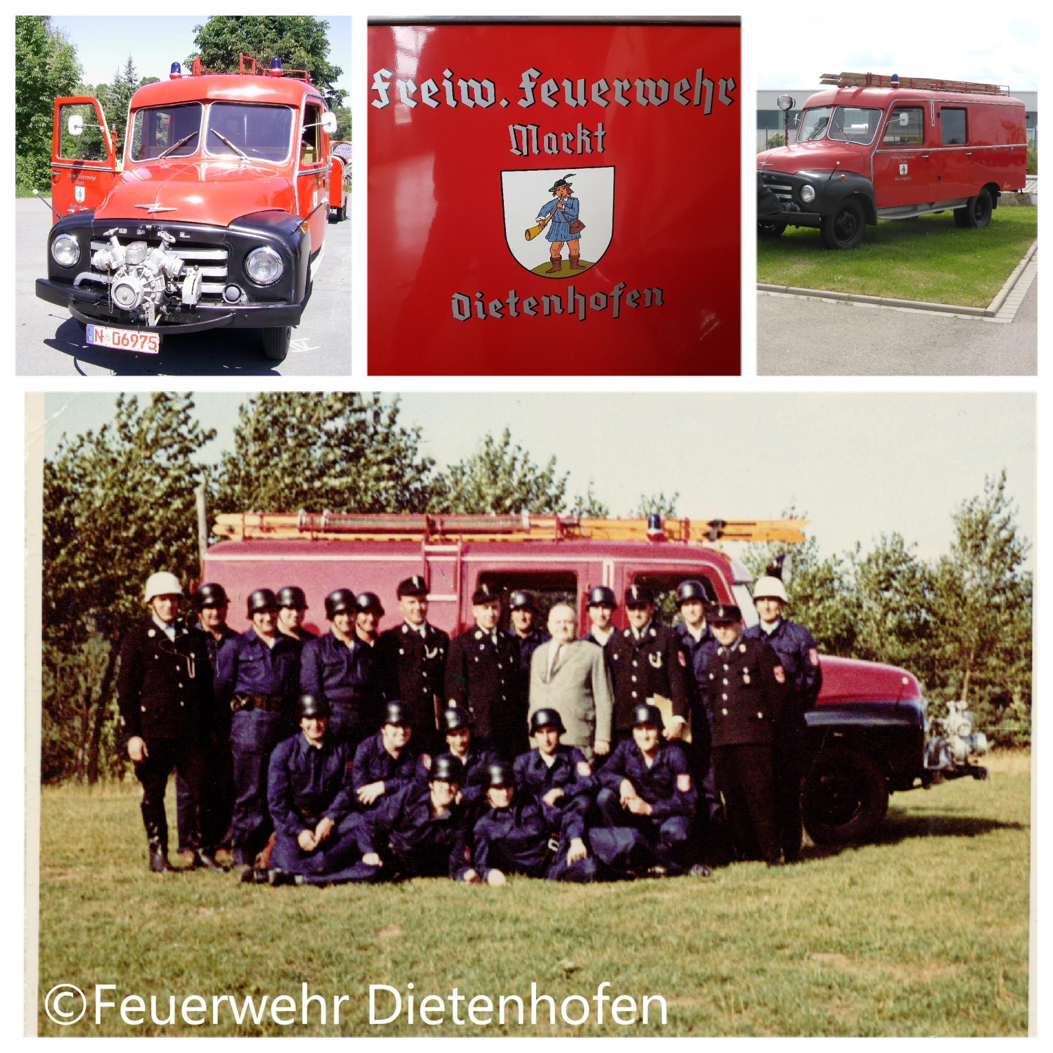Die Feuerwehr Dietenhofen im Wandel der Zeit – Das erste Löschgruppenfahrzeug in Dietenhofen