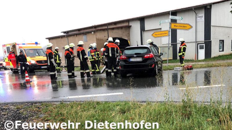 13.08.2020 Verkehrsunfall mit verletzter Person