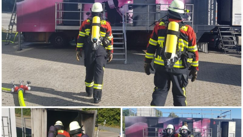 Brandsimulationsanlage in Rügland