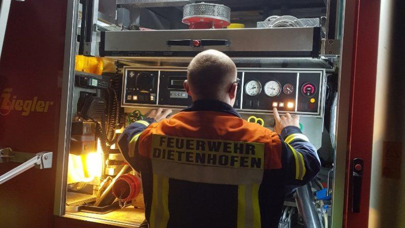 Üben für den Notfall im Notfall
