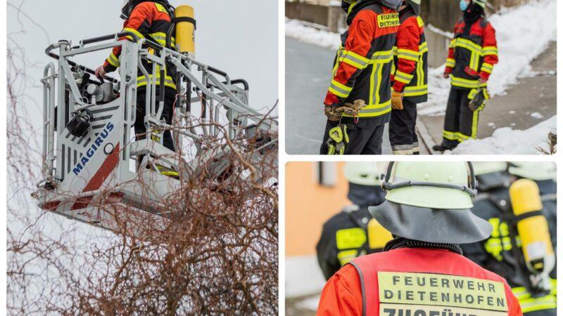 27.01.2021 Kellerbrand in Virnsberg