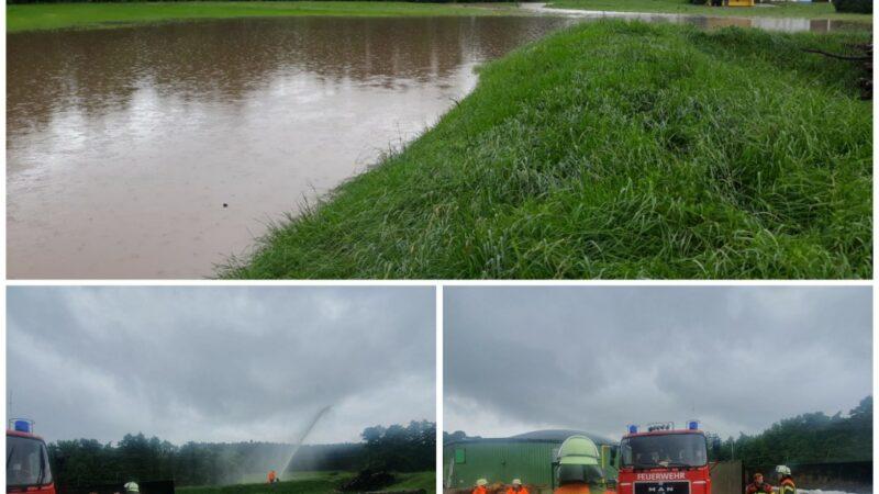 10.07.2021 Personen in Wassernot/ Hochwasser