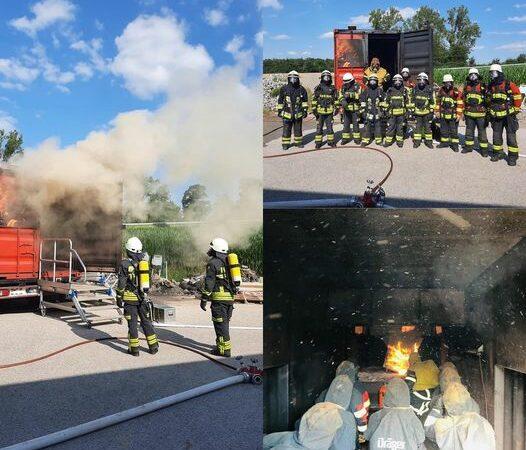 Brandübungscontainer in Schillingsfürst