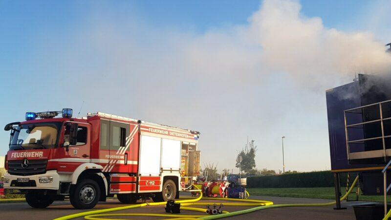 Brandübungscontainer in Dietenhofen